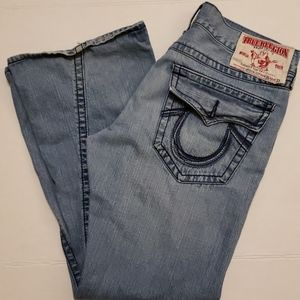 True religion rainbow Joey jeans 36/33